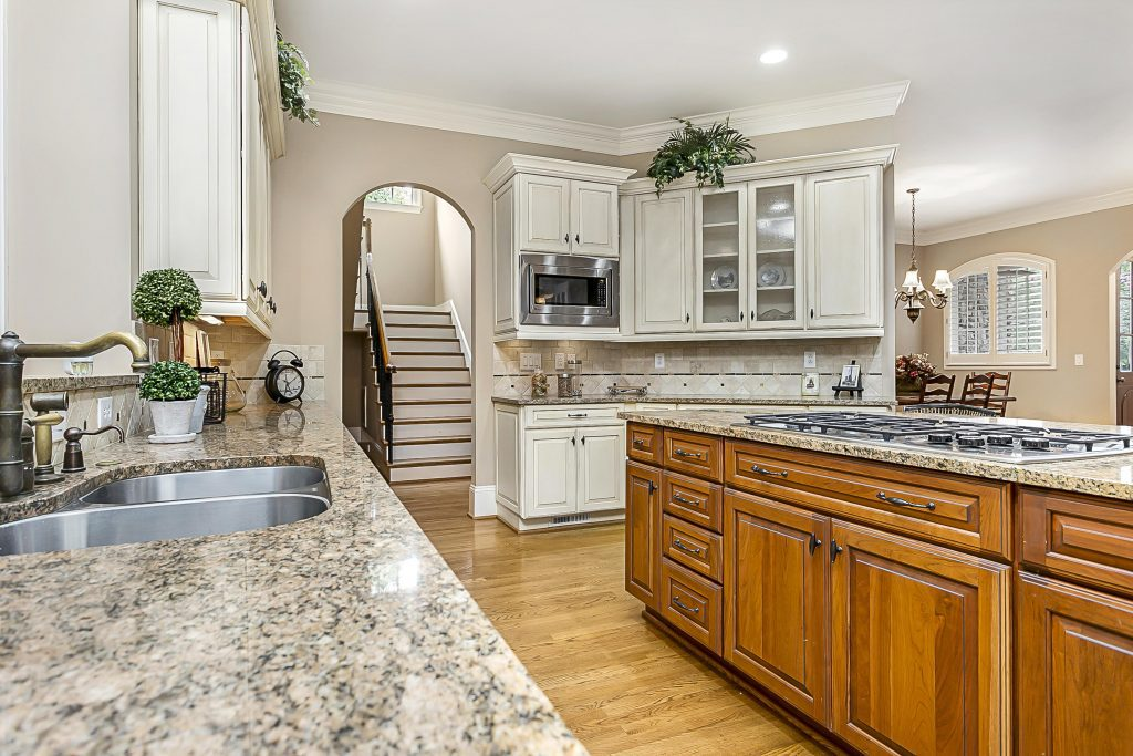 Real Estate Photographs of Highgate Kitchen.