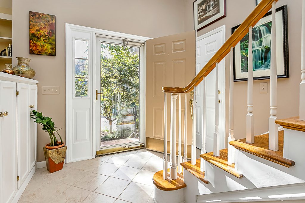 Bishops Ridge interior view of entryway